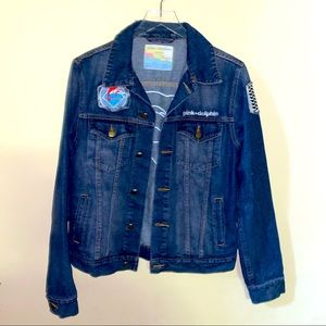 Pink Dolphin Men's or women's Jean jacket Size Med